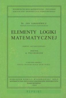Elementy logiki matematycznej