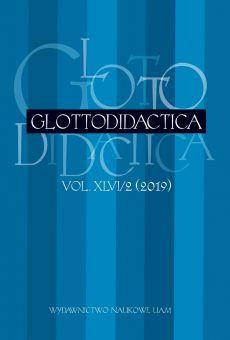 Glottodidactica, Vol. XLVI/2