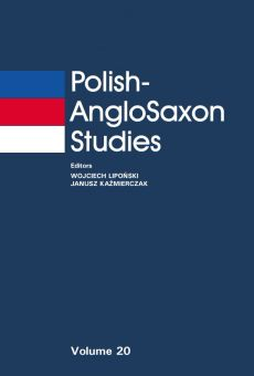 Polish-AngloSaxon Studies, Vol. 20