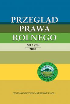 Przegląd Prawa Rolnego 1(26)/2020