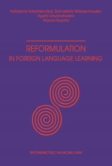Reformulation in foreign language learning