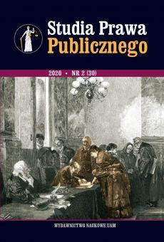 Studia Prawa Publicznego 2(30)/2020