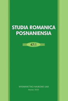 Studia Romanica Posnaniensia 47/1. Literatura y política en el ámbito ibérico e hispanoamericano del siglo XXI
