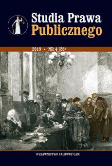 Studia Prawa Publicznego 4(28)/2019