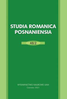 Studia Romanica Posnaniensia 48/2. La pragmática y la interculturalidad en la lingüística y la didáctica actual de ELE