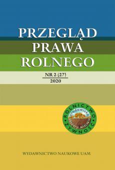 Przegląd Prawa Rolnego 2(27)2020