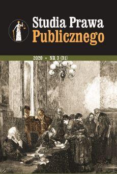 Studia Prawa Publicznego 3(31)/2020