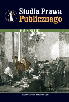 Studia Prawa Publicznego 3(27)/2019