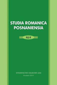 Studia Romanica Posnaniensia 46/4. Lingüística espańola entre tradición y modernidad. Teoría y práctica