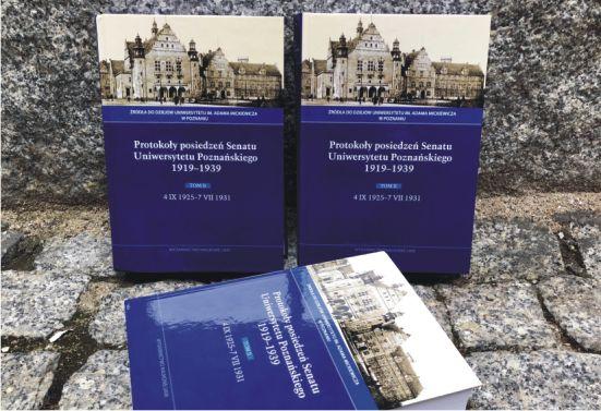 Protokoły posiedzeń Senatu Uniwersytetu Poznańskiego 1919–1939