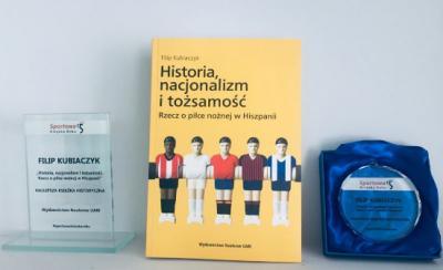 Najlepsza Sportowa Książka Roku w kategorii Historia