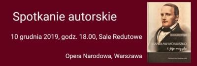 """Spotkanie autorskie – Rüdiger Ritter """"Stanisław Moniuszko i jego muzyka"""""""